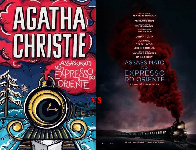 Comparativo filme vs livro: Assassinato no Expresso do Oriente 1