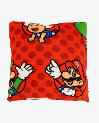 Almofada Microfibra Mario Bros 55 x 55 cm R$ 39,90