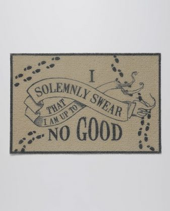 Tapete Capacho Solemnly Swear Harry Potter 0,40 x 0,60 m R$ 69,90