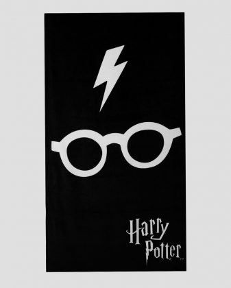 Toalha Raio Harry Potter R$ 19,90