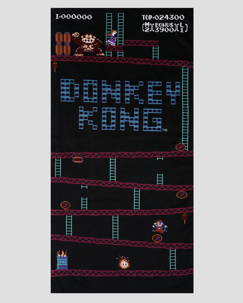 Toalha de Praia Donkey Kong R$ 49,90