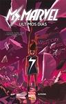 Ms. Marvel: Últimos Dias Book Cover