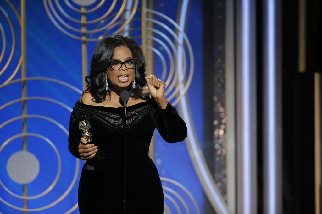 Globo de Ouro 2018: O discurso empoderado de Oprah Winfrey ao receber o honorário 'Cecil B. DeMille Awards' 1