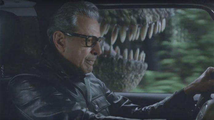 Jurassic Park: Jeff Goldblum revive cena clássica em comercial da Jeep 1