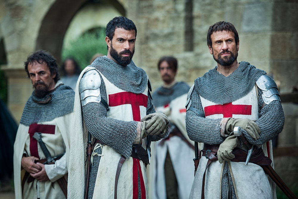 Knightfall: A Guerra do Santo Graal, nova série do History, transporta o espectador para a Idade Média 1