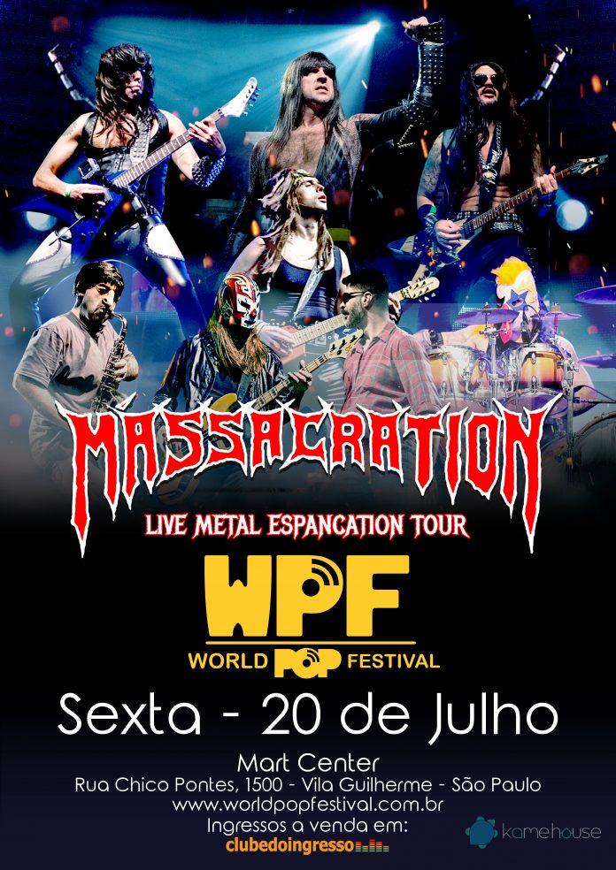 Após hiato, Massacration é confirmado no World Pop Festival 1