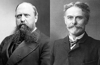 Othniel Charles Marsh e Edward Drinker