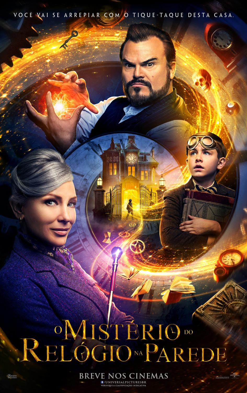 'O Mistério do Relógio na Parede', com Jack Black e Cate Blanchett, ganha novo trailer 1