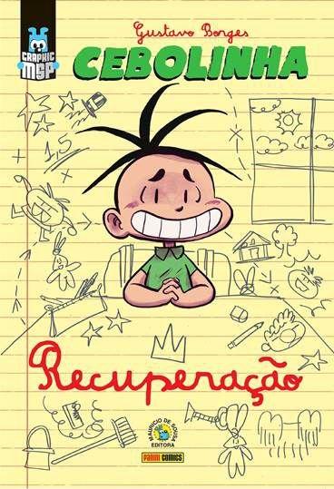 Cebolinha – Recuperação é a nova edição do selo Graphic MSP 1