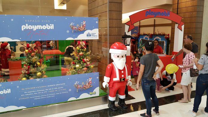 Playmobil de Natal no Espaço Kids do Central Plaza Shopping 2