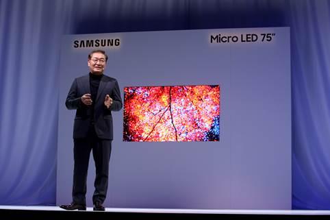 Samsung apresenta seus novos produtos com a tecnologia modular Micro LED 1