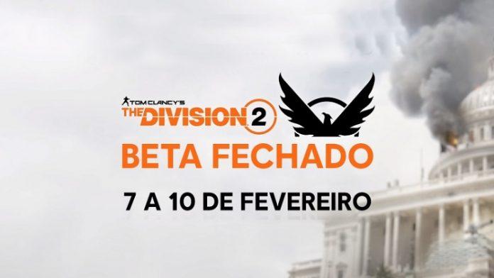 Primeira experiência com Tom Clancy's The Division 2 terá beta fechado 1