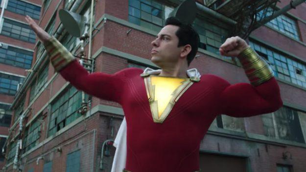 Shazam! | Novo trailer mostra o herói usando seus poderes 1