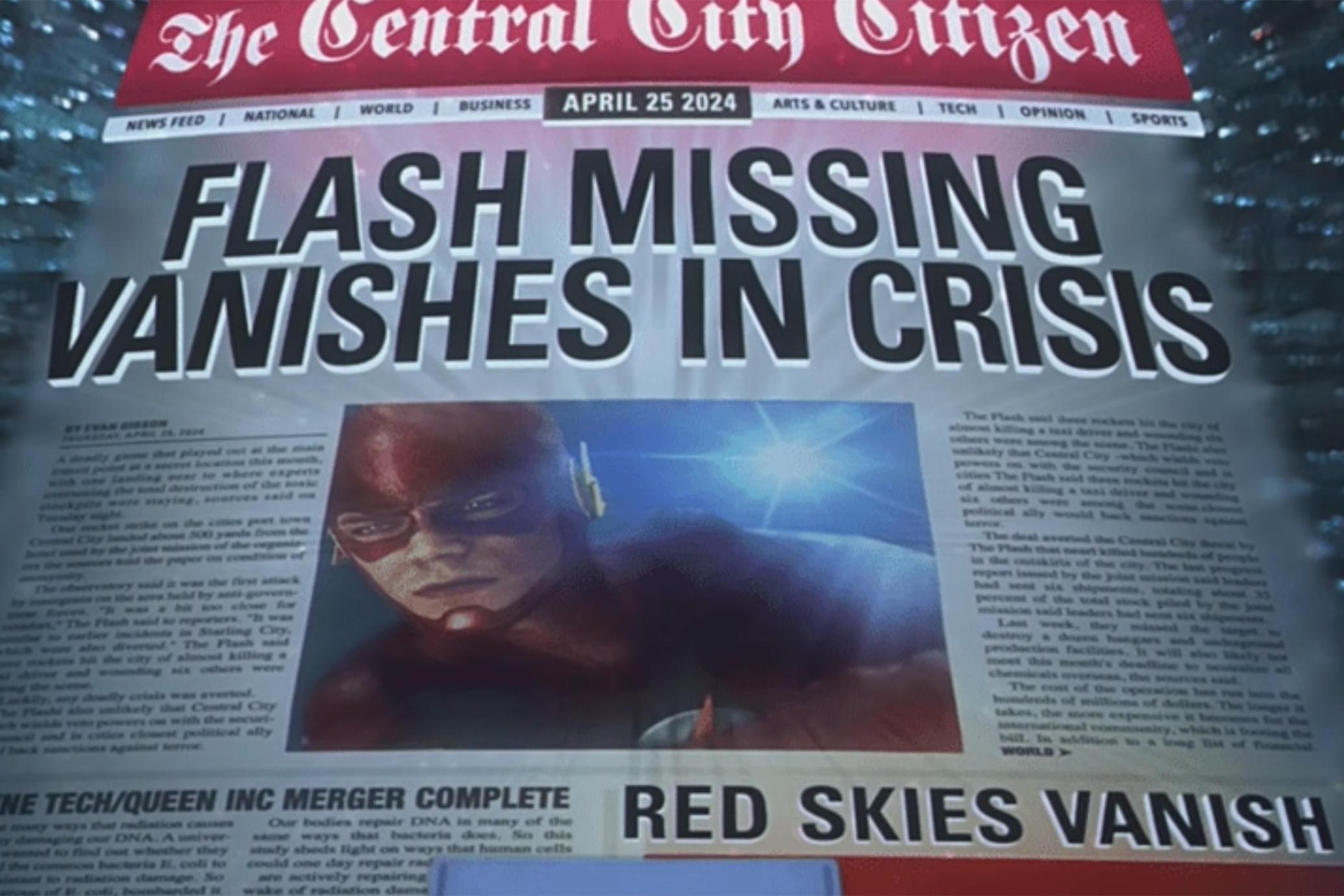 Crise nas Infinitas Terras | Tudo que sabemos sobre o crossover da CW 1