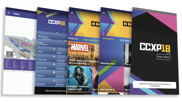 CCXP lança aplicativo oficial com informações do festival 1