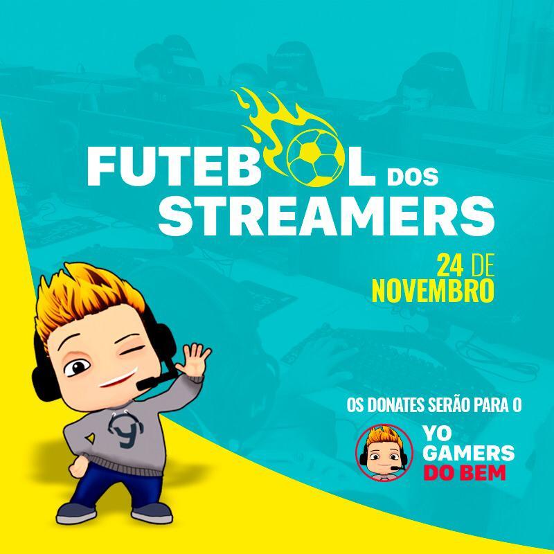 Futebol dos Streamers reúne craques dos games em prol de causa social 1