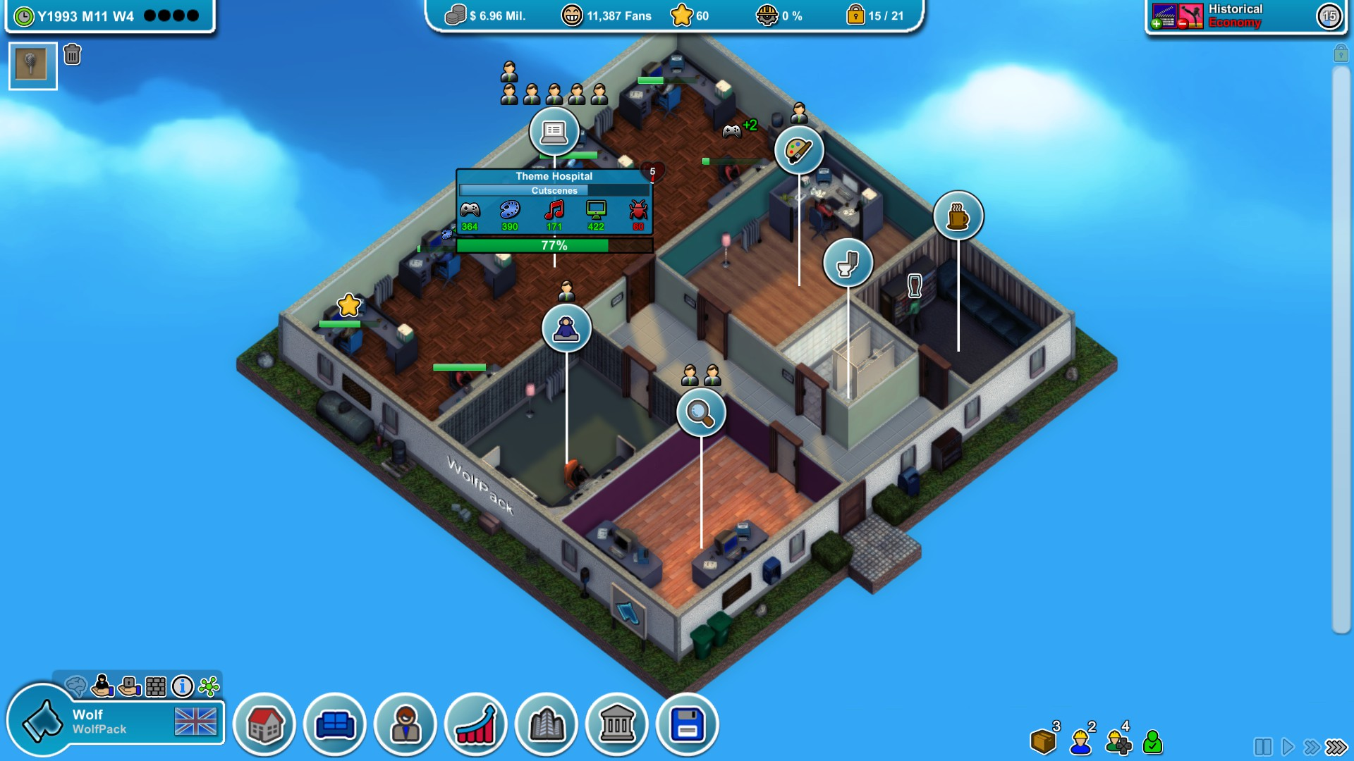 MAD Games Tycoon | Imagem Eggcode