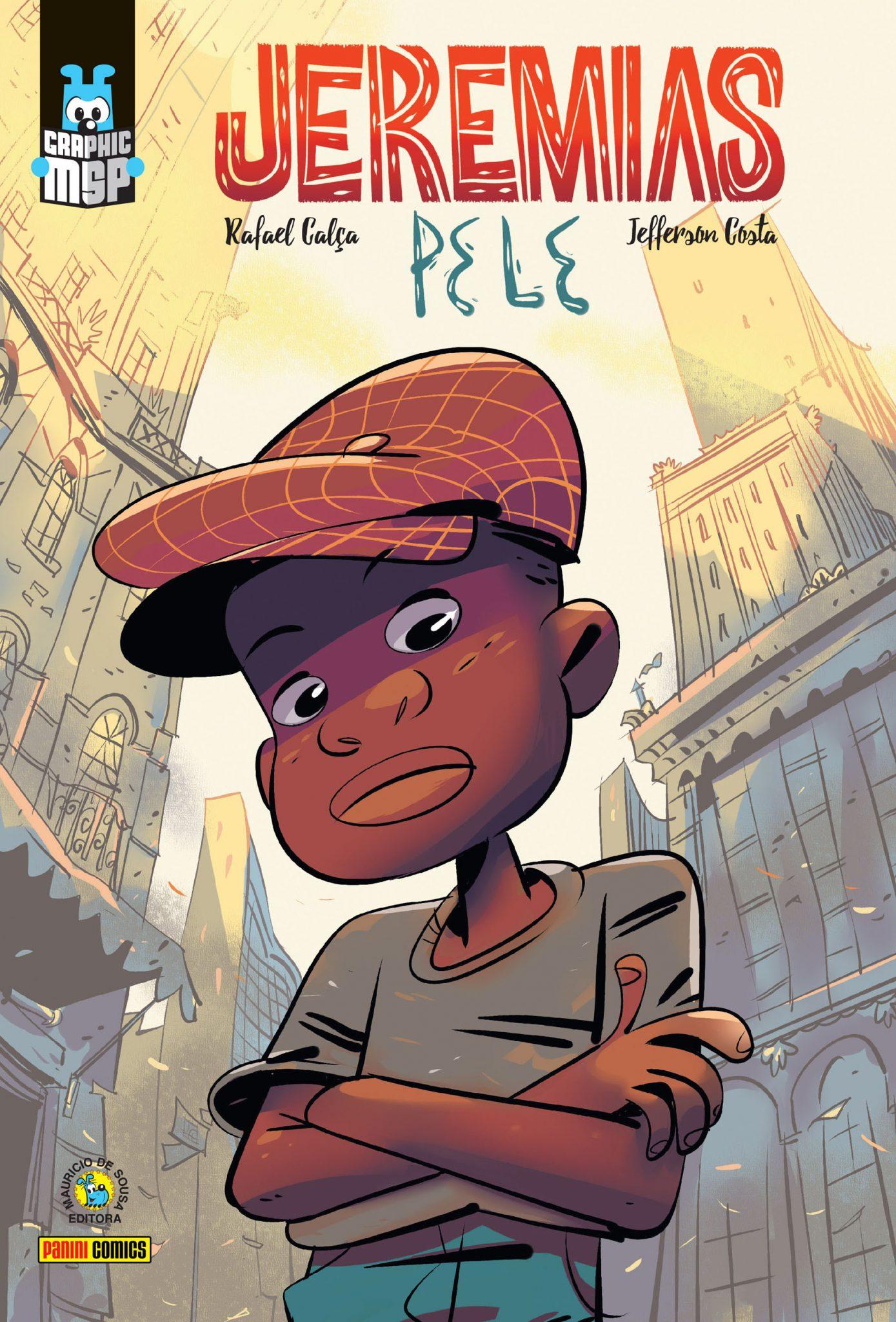 Jeremias - Pele ganha o Prêmio Jabuti 2019 na categoria Histórias em Quadrinhos 1