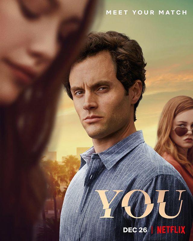Cartaz da 2ª Temporada de Você. Imagem: Netflix