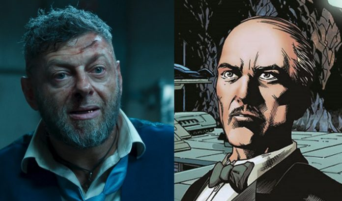 The Batman | Andy Serkis confirmado oficialmente no papel de Alfred 1