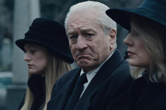 Frank Sheeran interpretado por Robert De Niro em O Irlandês | Imagem: Netflix