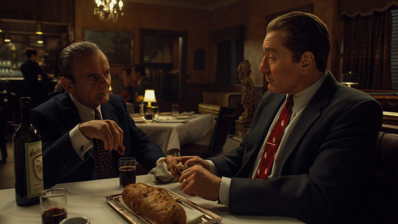 Joe Pesci e Robert De Niro em O Irlandês | Imagem: Netflix