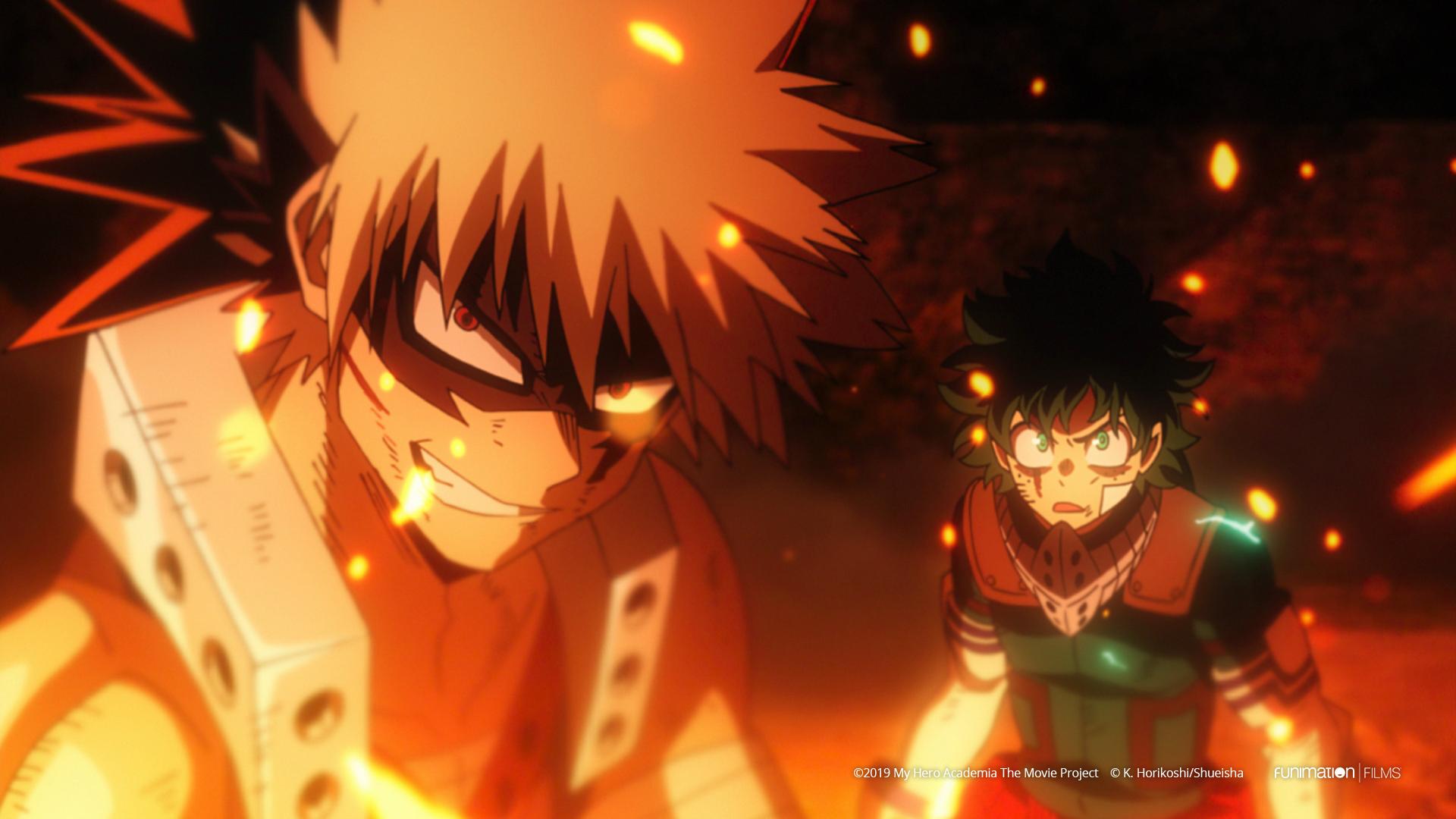 My Hero Academia Heroes Rising Katsuki Bakugo and Izuku Midoriya