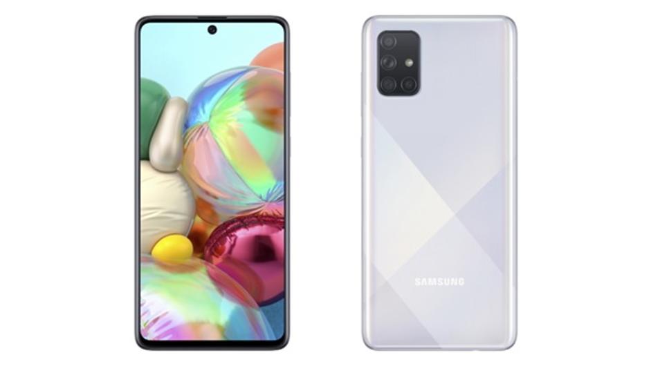 Samsung Galaxy A71 abre as vendas no Brasil com três opções de cores 1
