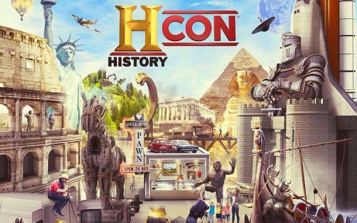 Canal History leva fãs para conhecer seus ídolos na Califórnia na History CON 1