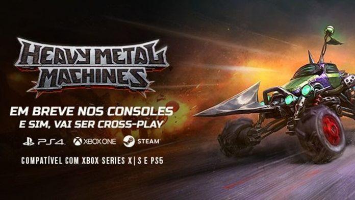 Heavy Metal Machines (HMM) chegará para consoles no começo de 2021 1