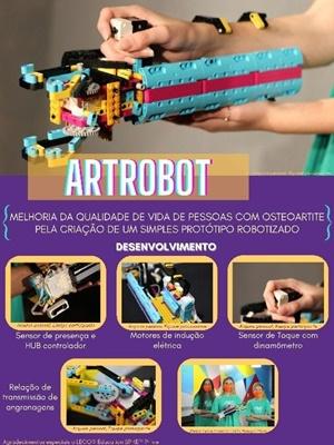 LEGO® Education participa da FEBRACE com protótipo de braço mecânico 1