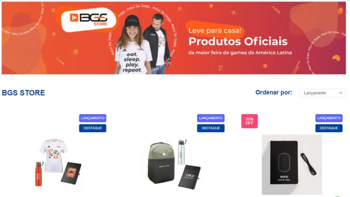 Semana do consumidor: Brasil Game Show amplia oferta de produtos exclusivos da BGS Store 2