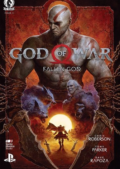 Dark Horse Comics lança HQ God of War: Fallen God 1