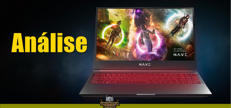 Notebook gamer NAVE Polaris