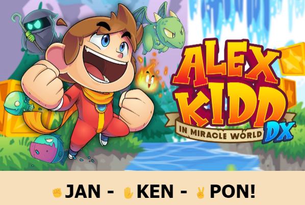 Alex Kidd in Miracle World DX chega ao Brasil em junho e em Português 1