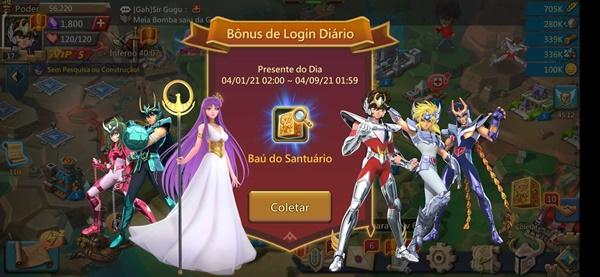 Lords Mobile: 6 dicas para elevar o cosmo no evento de Cavaleiros do Zodíaco 5