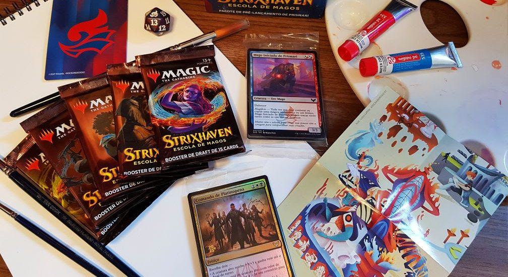 Magic: The Gathering lança coleção Strixhaven e abre as portas das cinco faculdades da magia 7