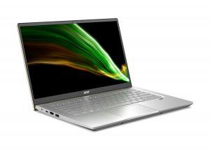 Acer anuncia Swift X com GPUs NVIDIA GeForce RTX série 30 e design fino e leve 3