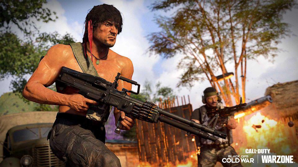 Saiba tudo sobre o lançamento da explosão oitentista de Rambo e John McLane em Call of Duty 8