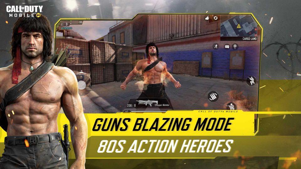 Saiba tudo sobre o lançamento da explosão oitentista de Rambo e John McLane em Call of Duty 10