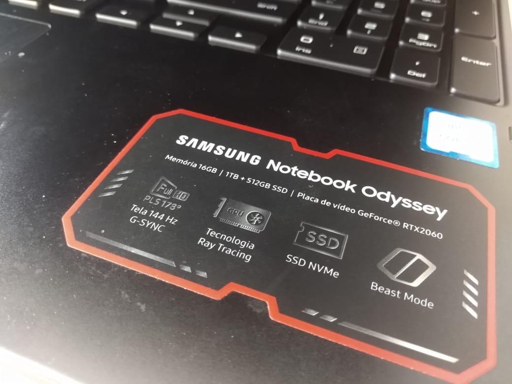 Análise   Notebook gamer Samsung Odyssey 2 1