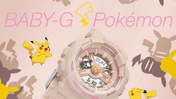 Pokémon   Casio lança no Brasil relógio inspirado no personagem Pikachu 3