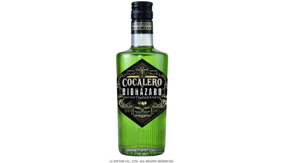 Resident Evil ganha bebida verde com base de várias plantas, inclusive Coca 1