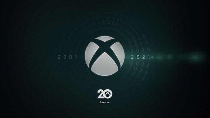 Xbox logo de 20 anos