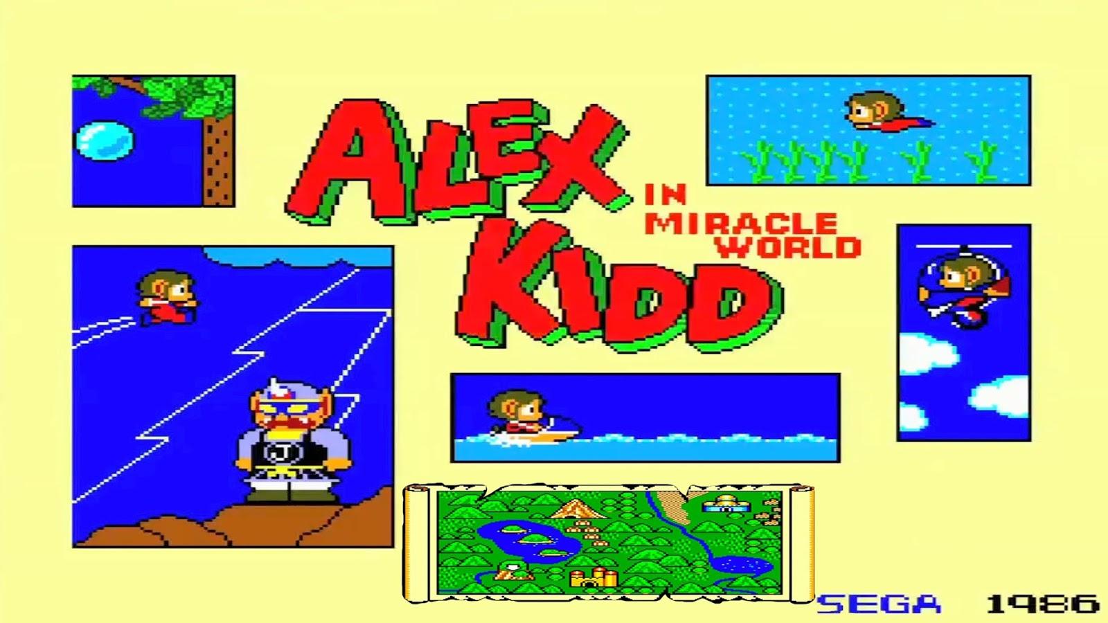 Review   Alex Kidd in Miracle World DX está de volta! 1