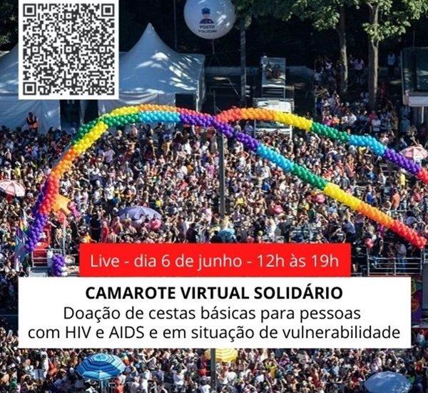 Camarote Virtual Solidário vai arrecadar cestas básicas para pessoas com HIV e AIDS 1