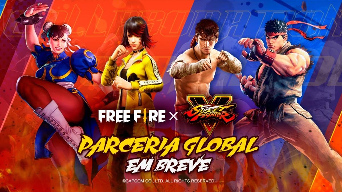 Round 1 Fight! Free Fire chama pra briga Street Fighter com data marcada! 1