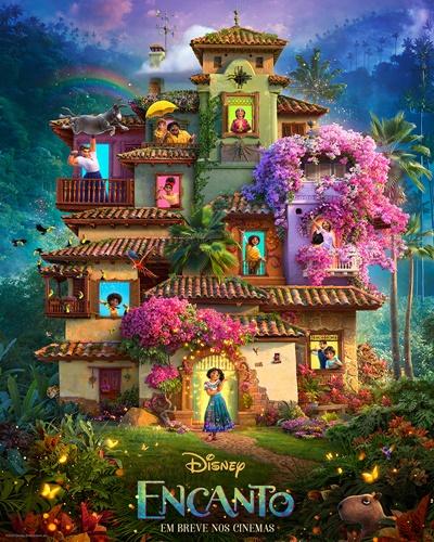 Disney divulga primeiro trailer de Encanto com canções de Lin-Manuel Miranda de Moana 1