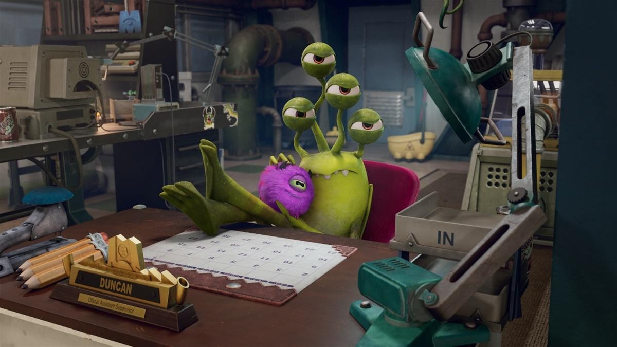 Monstros no Trabalho | Conheça os personagens da série 3
