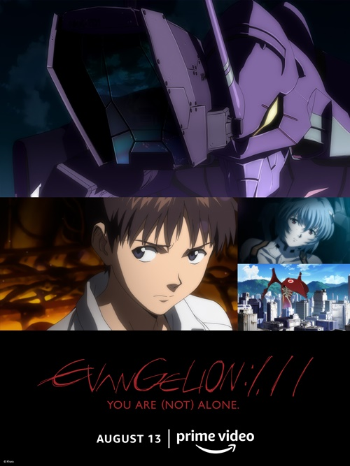 Evangelion 3.0+1.01 Thrice Upon a Time estreia no Prime Video 2